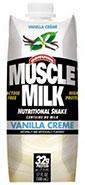 Muscle Milk Vallina Creme Carton