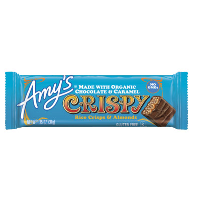 Amy's Crispy Rice Crisps & Almonds